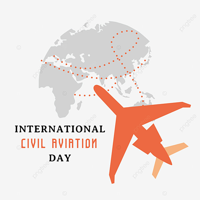 red concise international civil aviation day