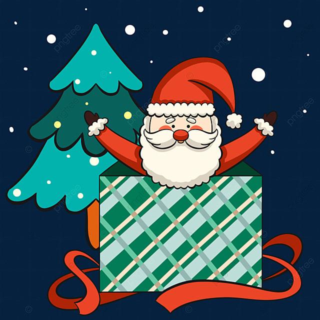 christmas santa claus element