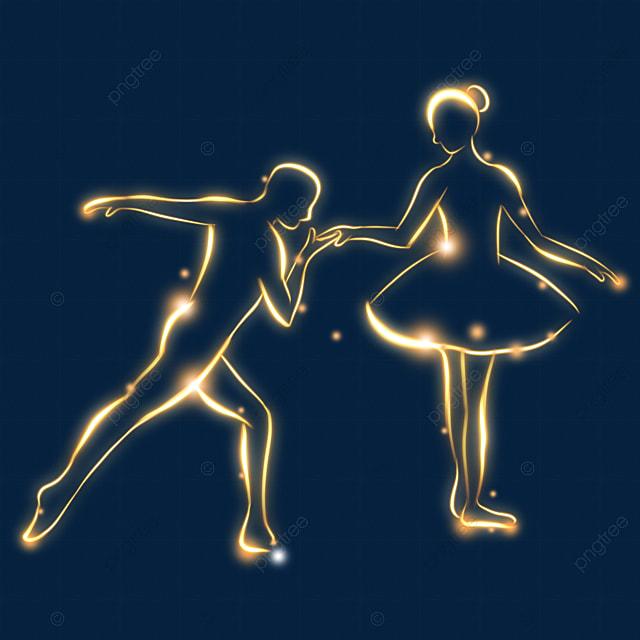classical art light effect ballet