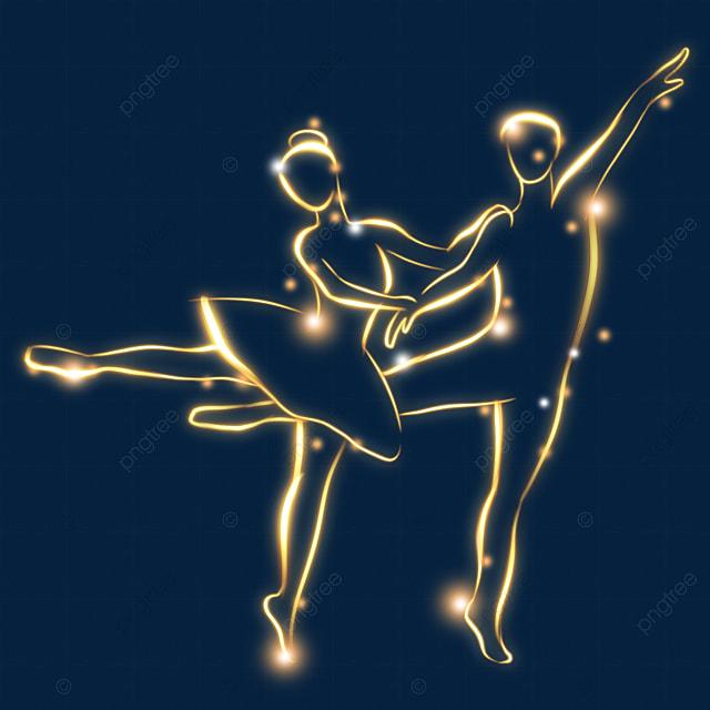 light effect ballet performance character