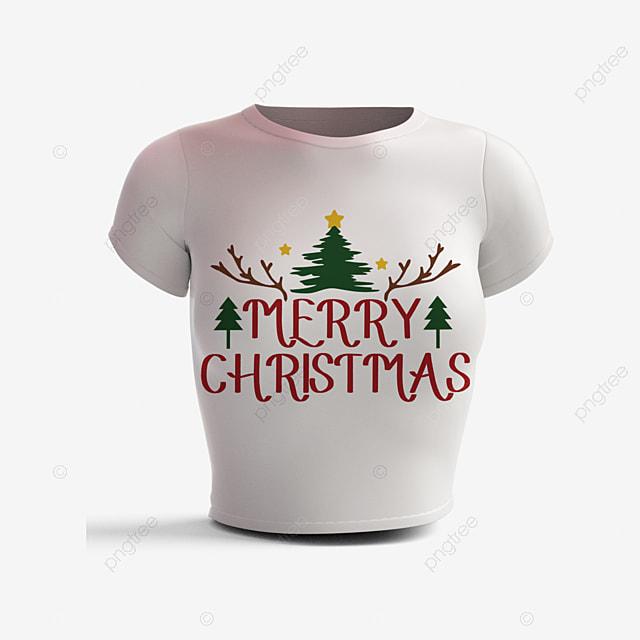 christmas simple short sleeves and cartoon cute patterns