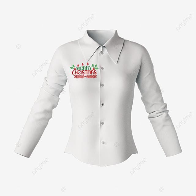 christmas style pattern cartoon hand drawn shirt