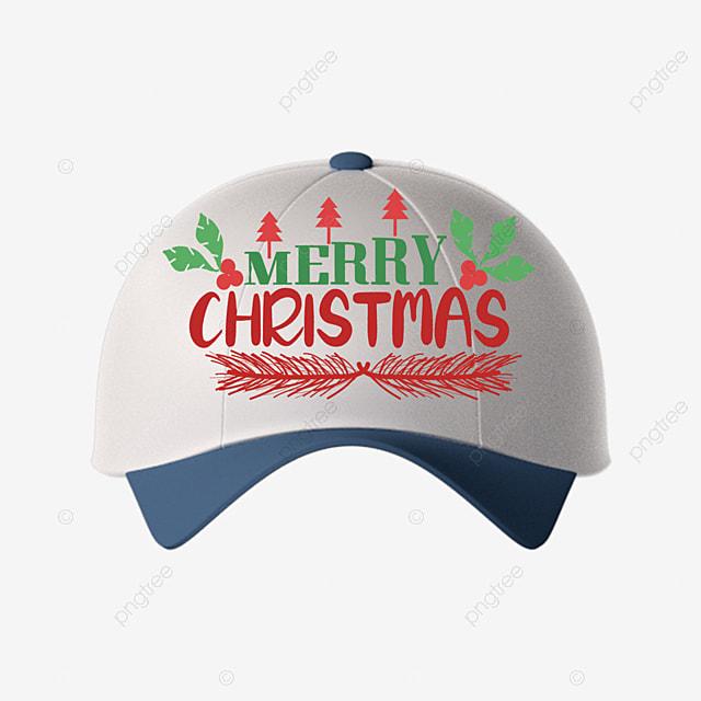 hat cute pattern merry christmas