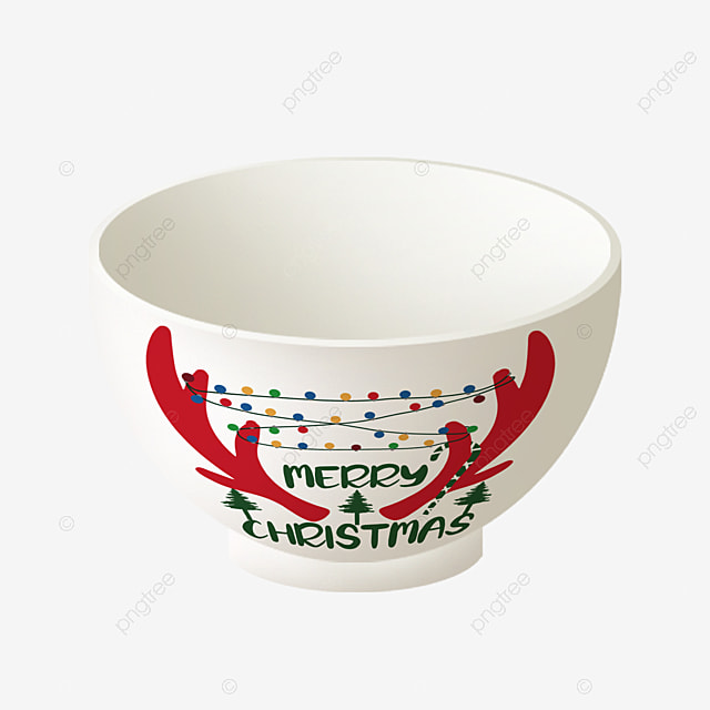 the simple art of combining christmas patterns and bowls