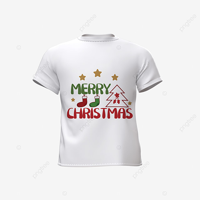 three dimensional christmas style simple short sleeves