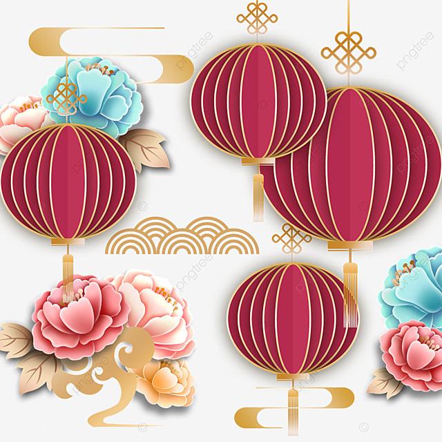 xiangyun decorative three dimensional lantern