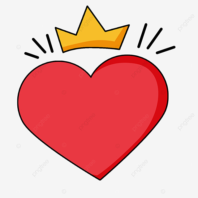 Cartoon Red Love Heart Wearing A Crown Decoration Crown Element Png Transparent Clipart Image And Psd File For Free Download 96 watchers20.7k page views147 deviations. cartoon red love heart wearing a crown