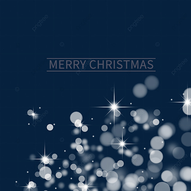 christmas glowing stars light effect