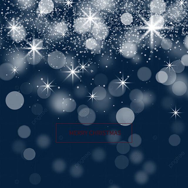 snowflake glow christmas light effect
