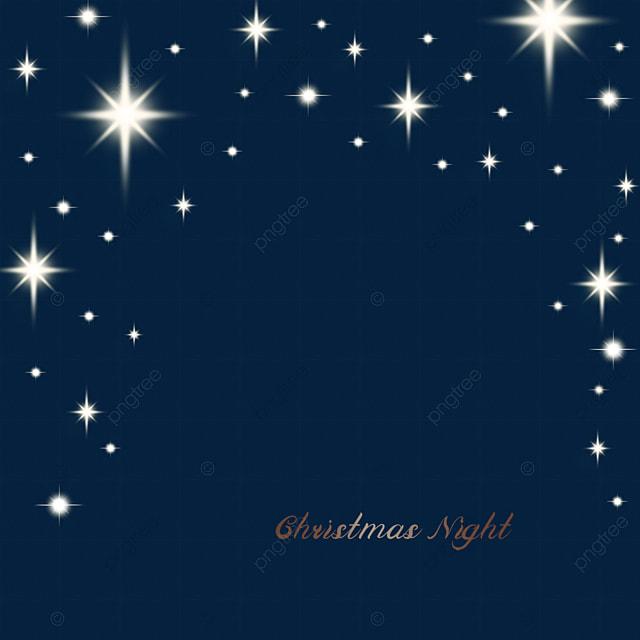 yellow christmas star light effect