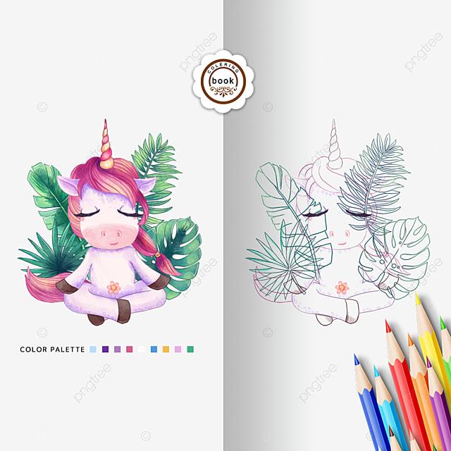 Buku Mewarnai Kuda Poni Lucu Kuda Poni Menyenangkan Kartun Png Transparan Gambar Clipart Dan File Psd Untuk Unduh Gratis