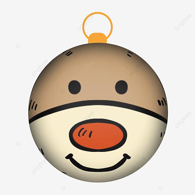 cute bear with christmas ball