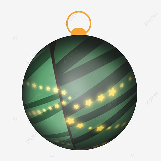 cute cartoon pine christmas ball