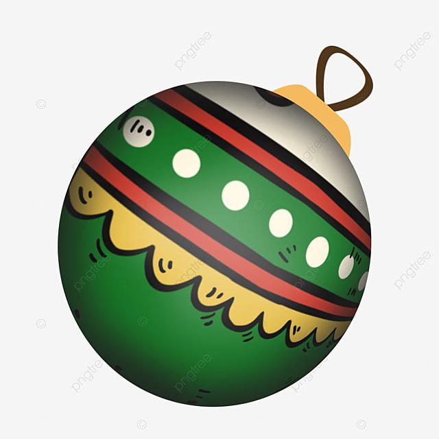 green cute cartoon toy christmas ball