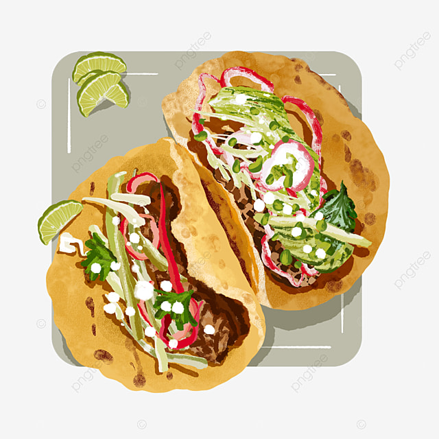 Mexican Taco Crepes With Lemon Sauce Taco Clipart Lemon Mexico Png Transparent Clipart Image And Psd File For Free Download