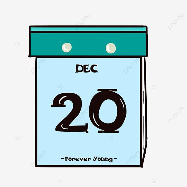 Clipart Calendrier Dessin Anime Vert Calendrier Clipart Calendar Fichier Png Et Psd Pour Le Telechargement Libre