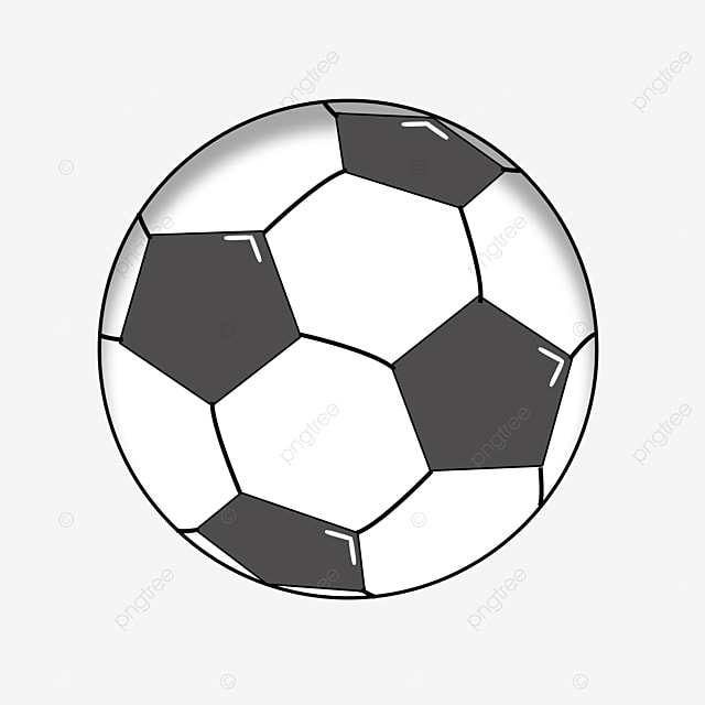 Black And White Football Clip Art Football Clipart Black And White Foot Kick Png Transparent Clipart Image And Psd File For Free Download