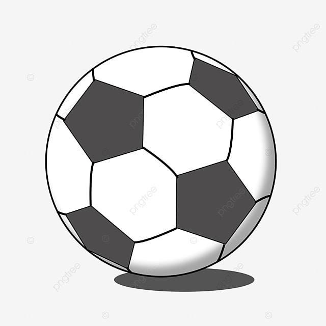 Black And White Football Clip Art Football Clipart Black And White Pentagon Foot Png Transparent Clipart Image And Psd File For Free Download