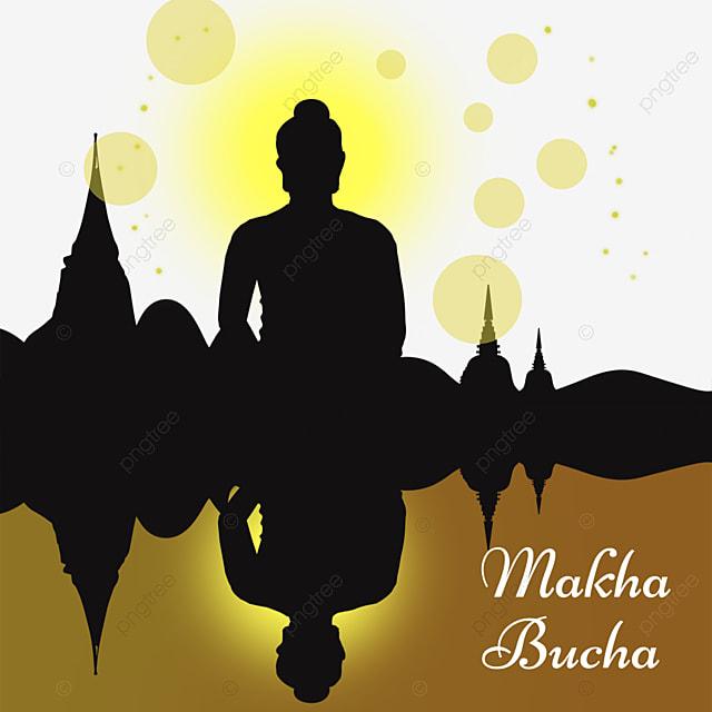 makha bucha thai festival monk reflection