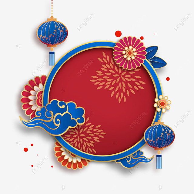 chinese new year border