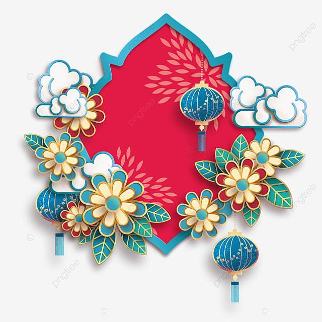 creative chinese new year border