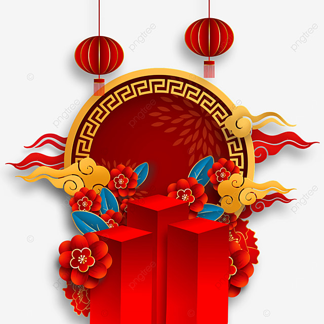 traditional chinese new year border