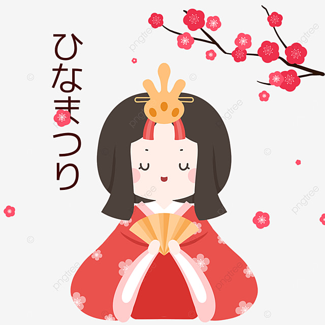 kimono girls at dolls festival on march 3
