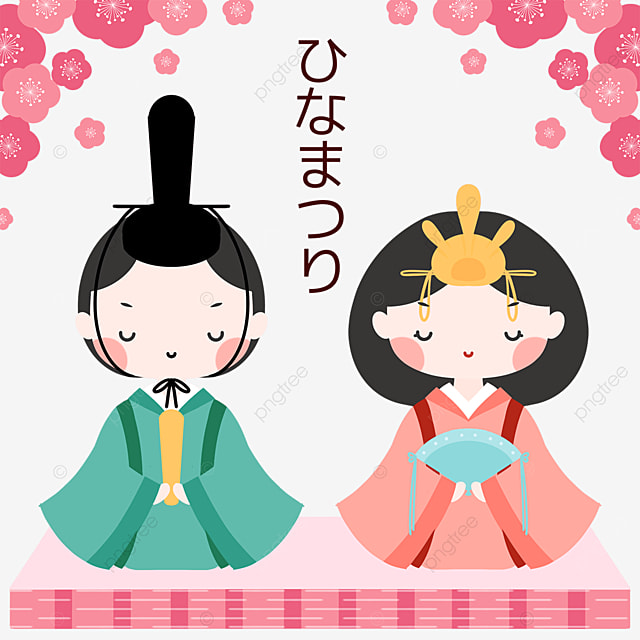 march 3 dolls festival cartoon dolls