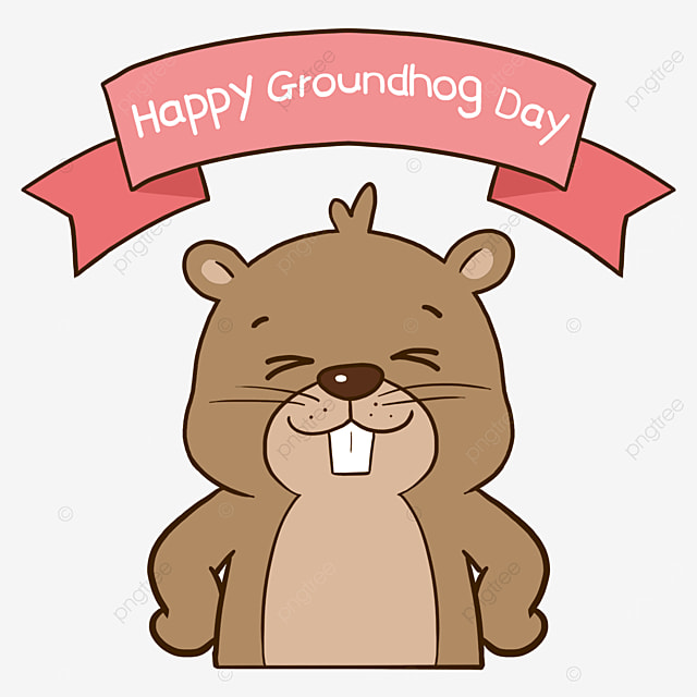 Happy Groundhog Day Happy Sunlight Png Transparent Clipart Image And Psd File For Free Download