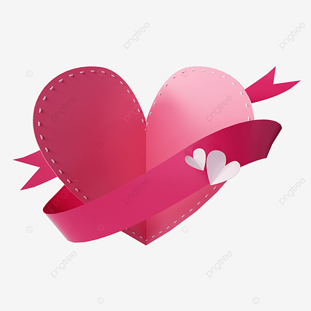 3d three dimensional valentines day love origami card