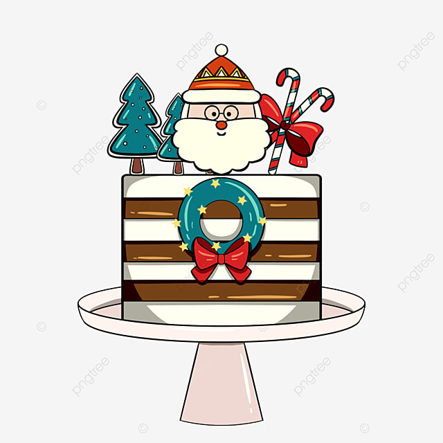 christmas cute holiday cake
