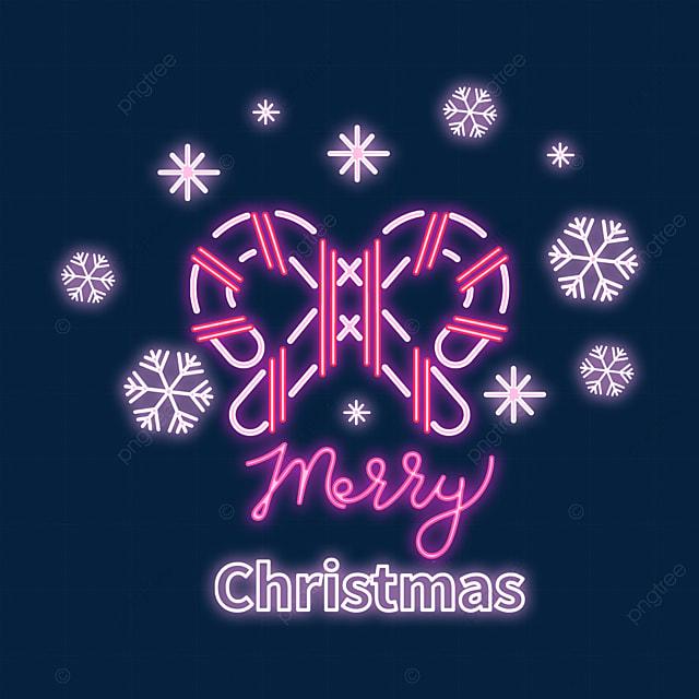 christmas neon pink creative