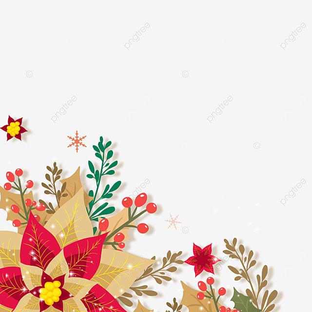 christmas poinsettia decoration style christmas flower