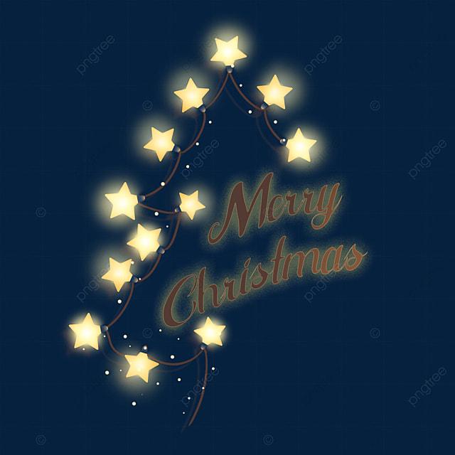 christmas yellow christmas lights
