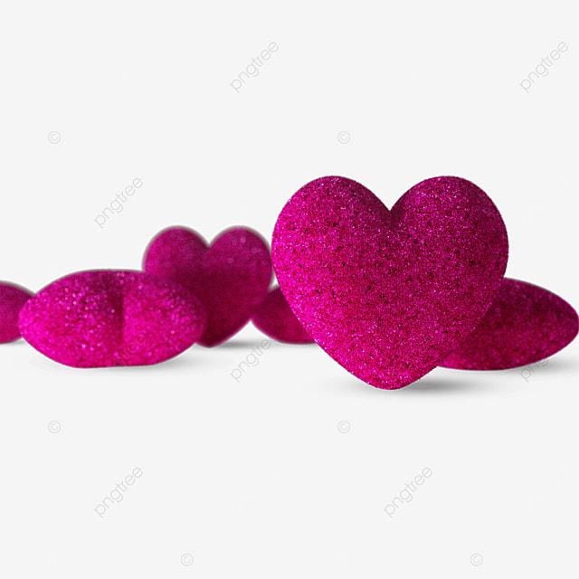 pink valentines three dimensional love heart