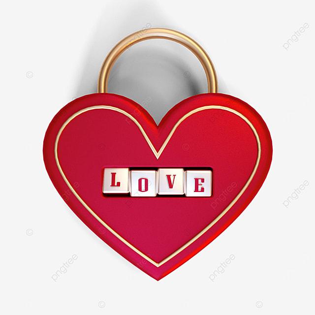 valentine love lock
