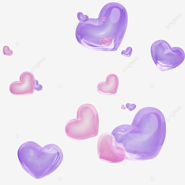 valentines day love bubble
