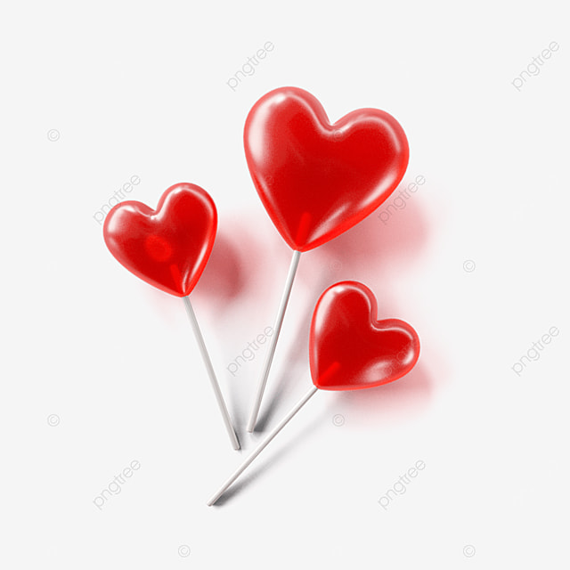 valentines day love lollipop