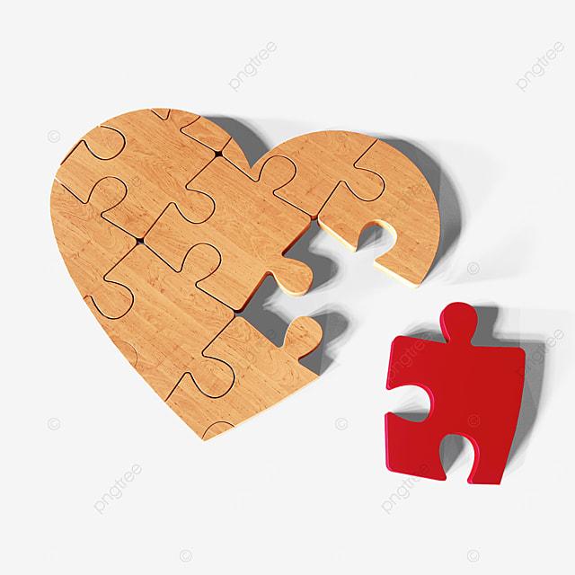 valentines day love puzzle