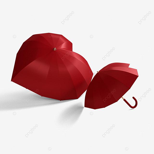 valentines day love umbrella