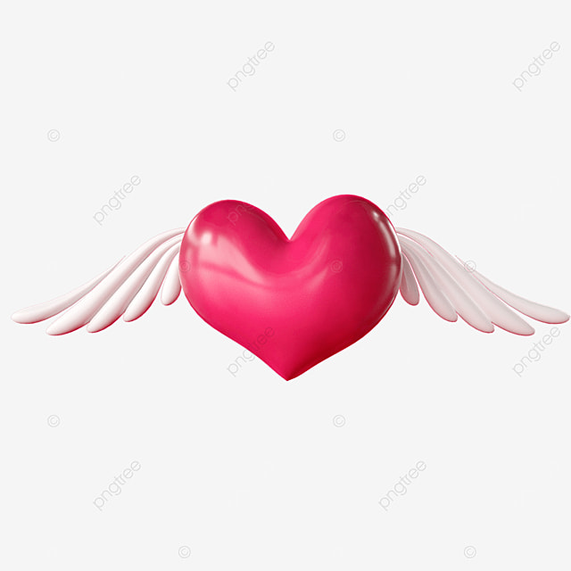 valentines day love wings