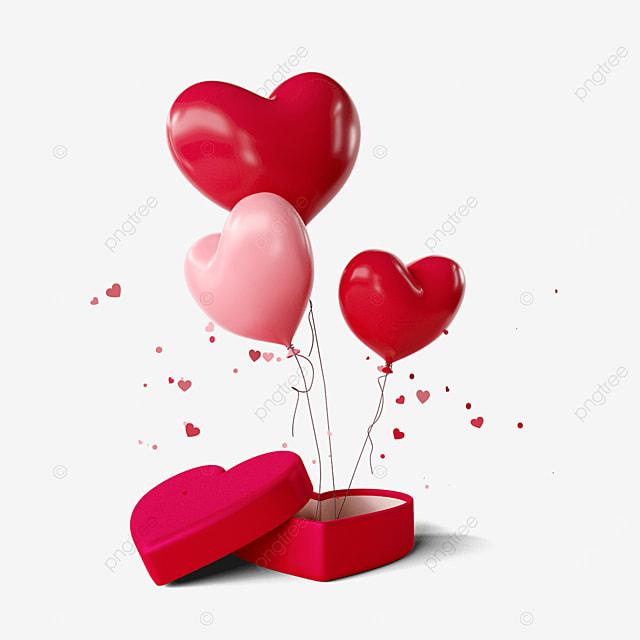 valentines day romantic love balloons
