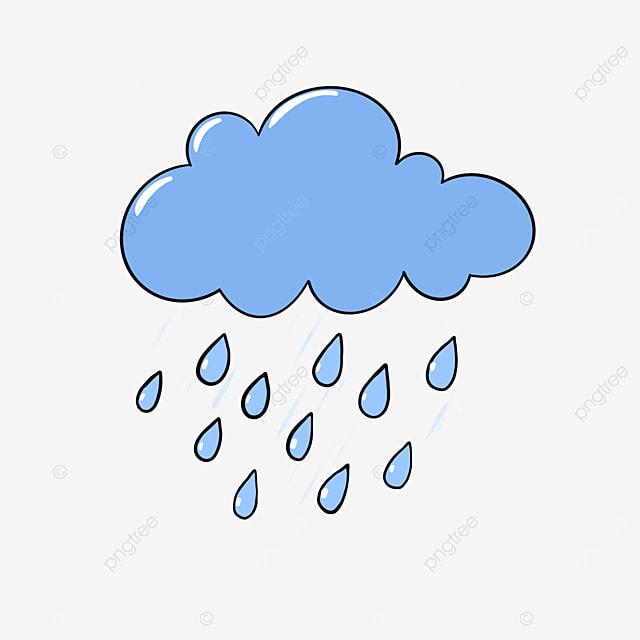 الغيوم الكرتون نمط المطر ممطر كرتون بيضاء قطرات الماء Png وملف Psd للتحميل مجانا