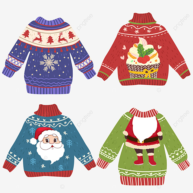 winter christmas ugly sweater