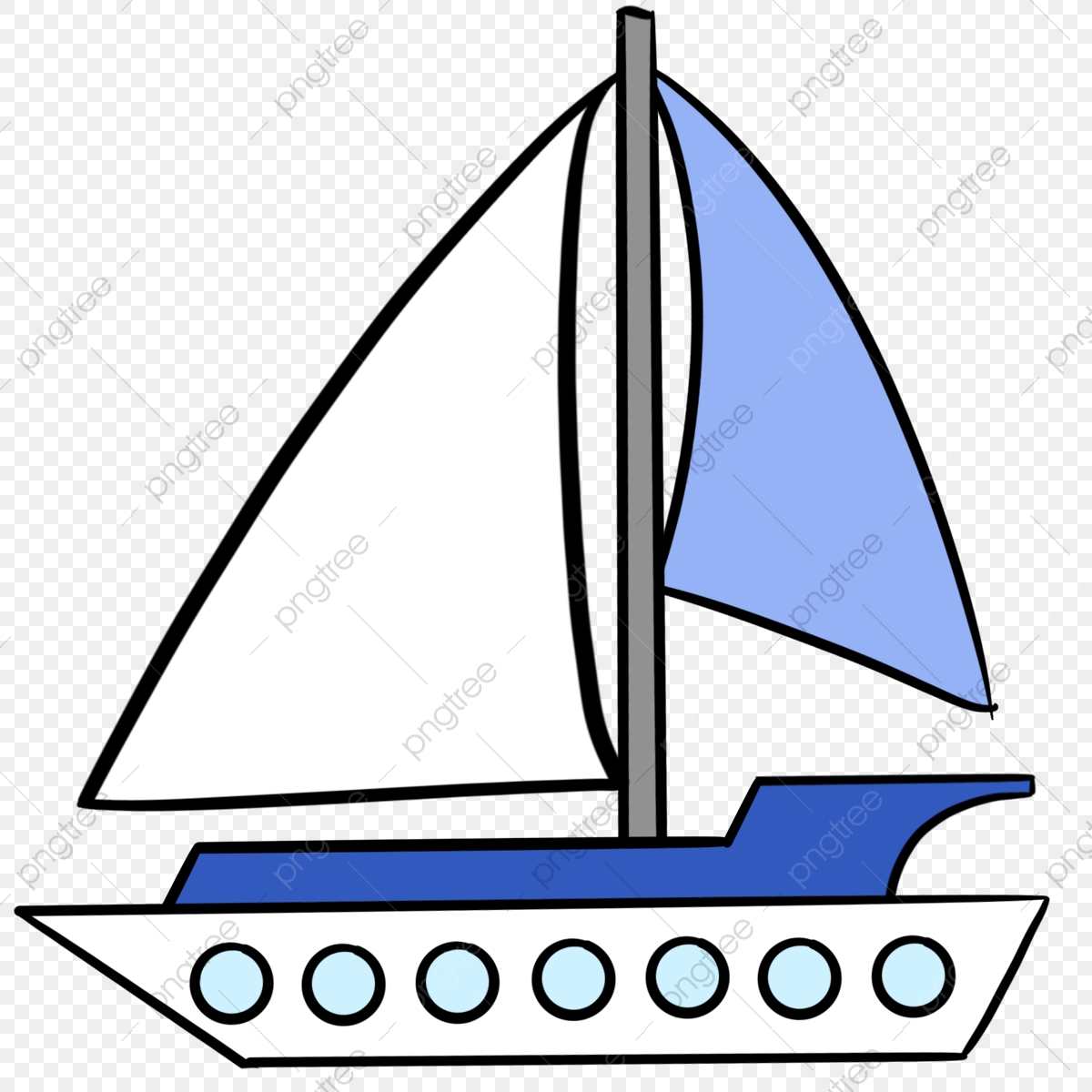 Blue Clip Art Boat Cruise Ship Lineart, Blue, Ferry, Clip Art PNG ...
