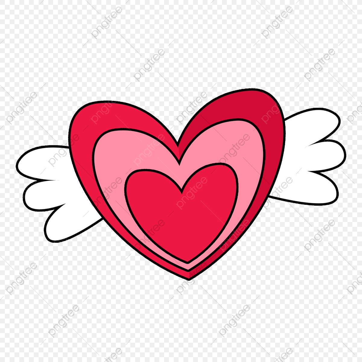 png file Turquoise Heart Angel Wings