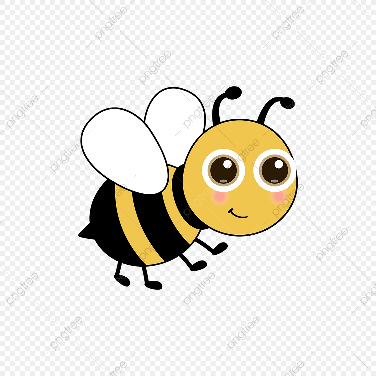 Bee Clipart Download Free Transparent Png Format Clipart Images On Pngtree