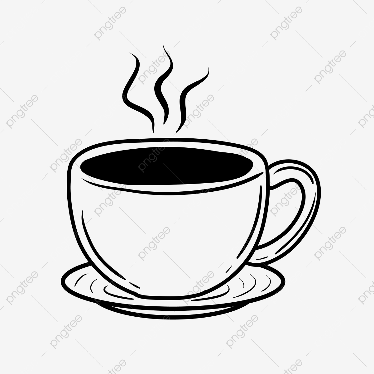Coffee Vector Png Images Coffee Cup Coffee Shop Coffee Aroma Vectors In Ai Eps Format Free Download On Pngtree