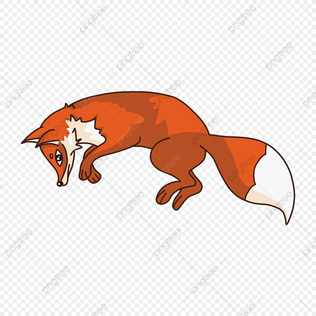 Fox Jumping Fox Clipart Clip Art Fox Png Transparent Clipart Image And Psd File For Free Download