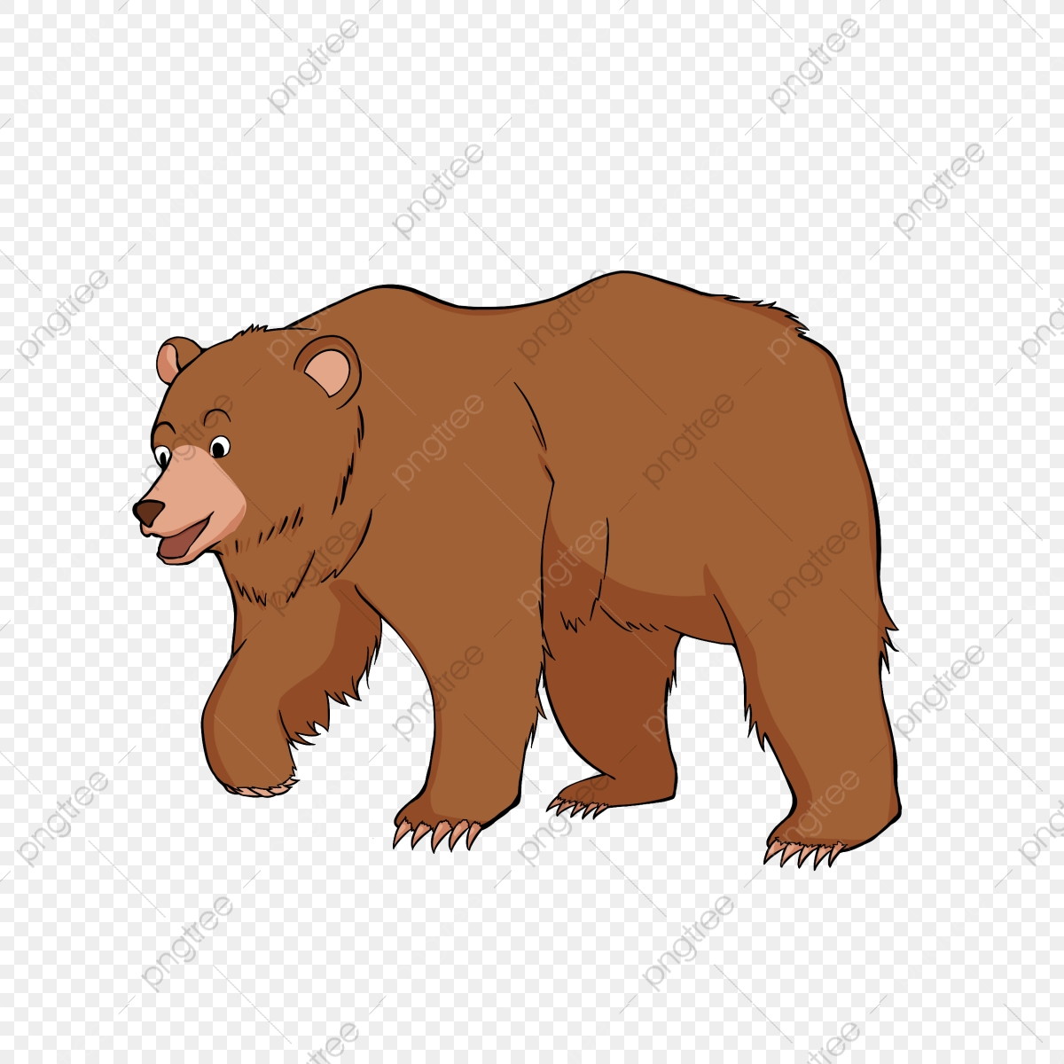hand drawn stickers brown bear clipart, bear clipart, bear clip art, map  png transparent clipart image and psd file for free download  pngtree